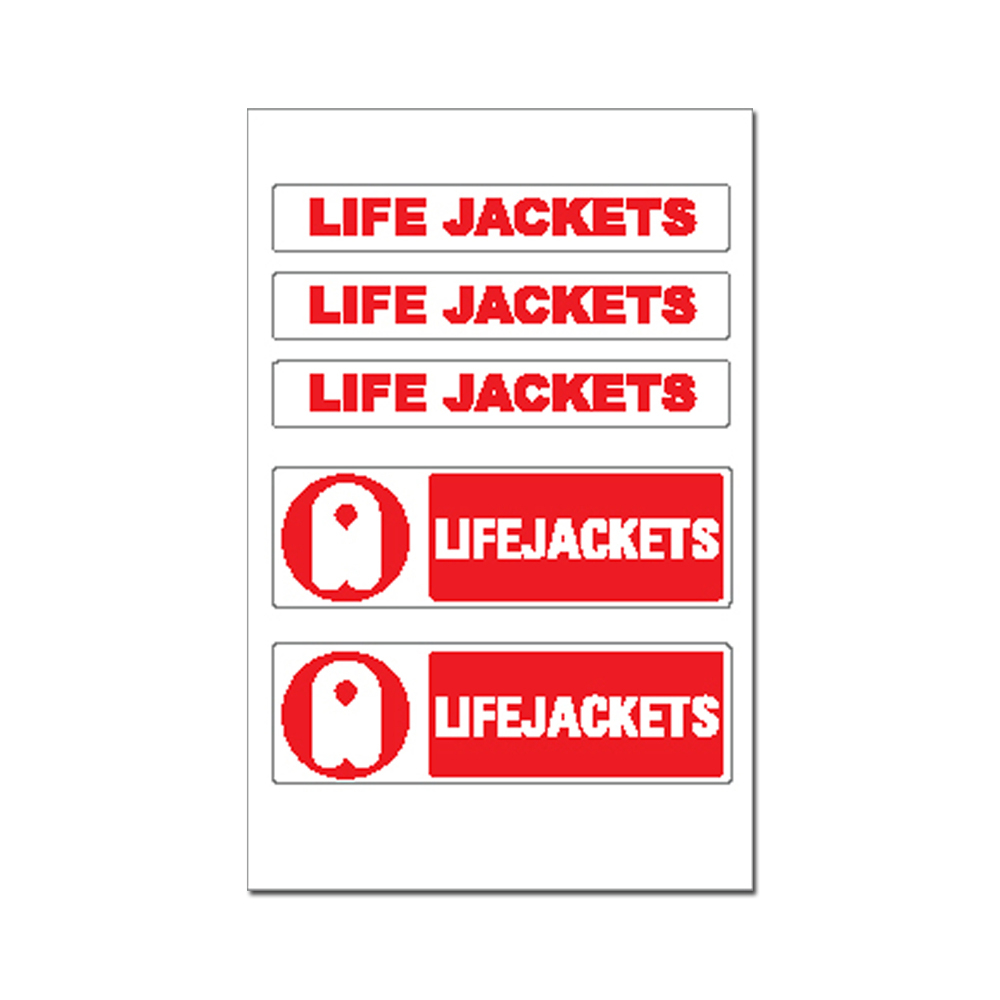 Sticker - Lifejackets & Logo