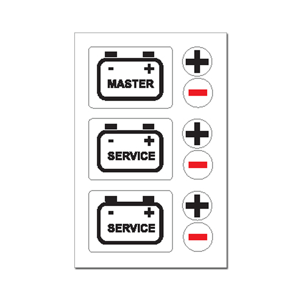 Sticker - Battery Master Service