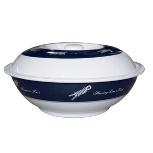 Sea-Knot Serving Bowl with Lid