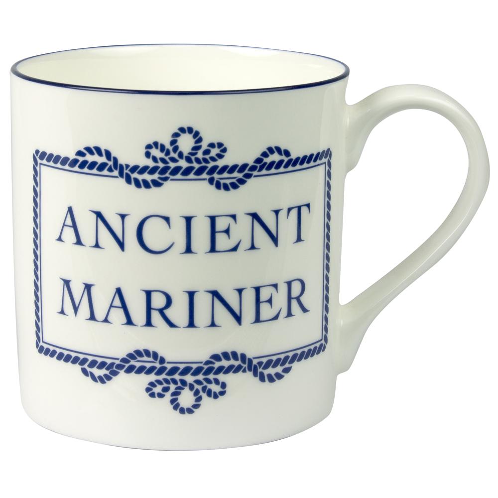 Porcelain Mug - Ancient Mariner