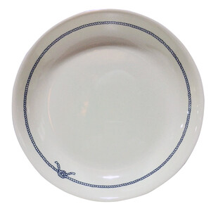 Blue Rope Melamine Pasta or Soup Bowl
