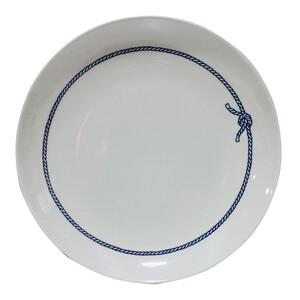 Blue Rope Melamine Dessert Plate