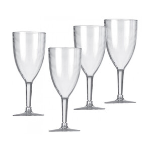 Acrylic Wine Glasses (Set of 4)