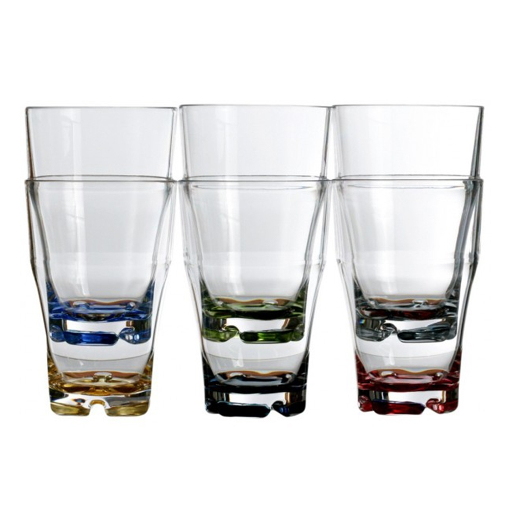 Stackable Beverage Glasses - Set of 6