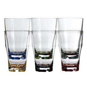 Stackable Beverage Glasses - Set of 6