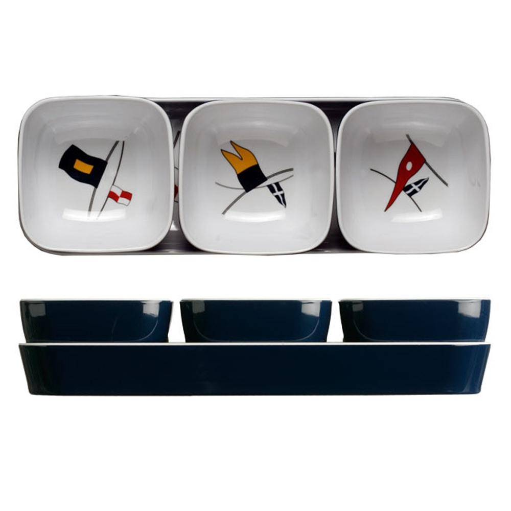 Regata Snack Bowl Set