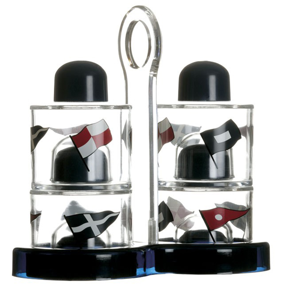 Regata Oil, Vinegar, Salt & Pepper Set