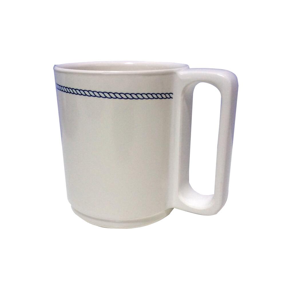 Blue Rope Melamine Mug