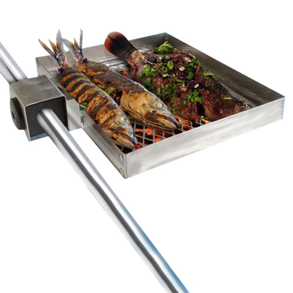 Railmount Boat Barbecue with Lid