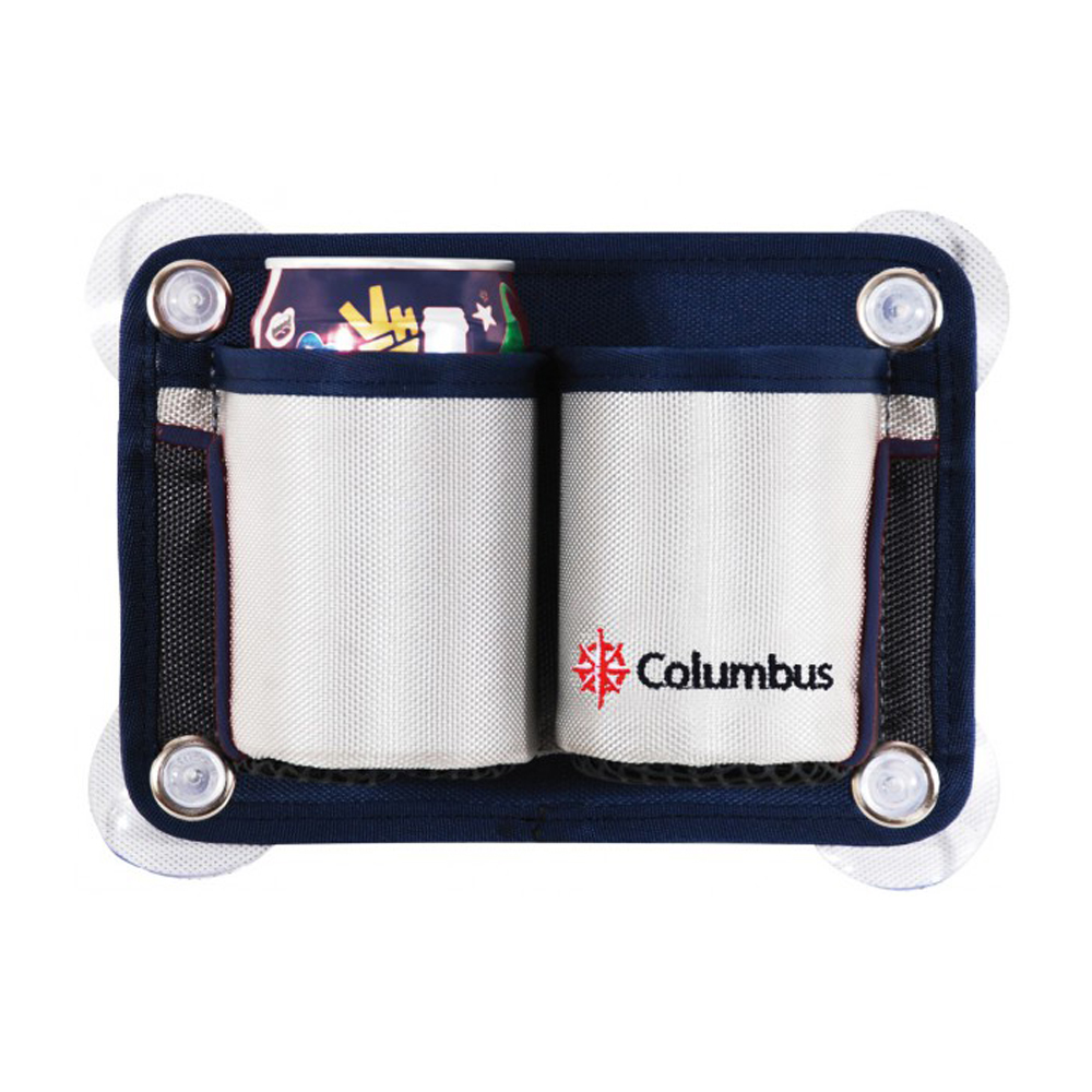 Columbus Suction Cup 2 Bottle Holder