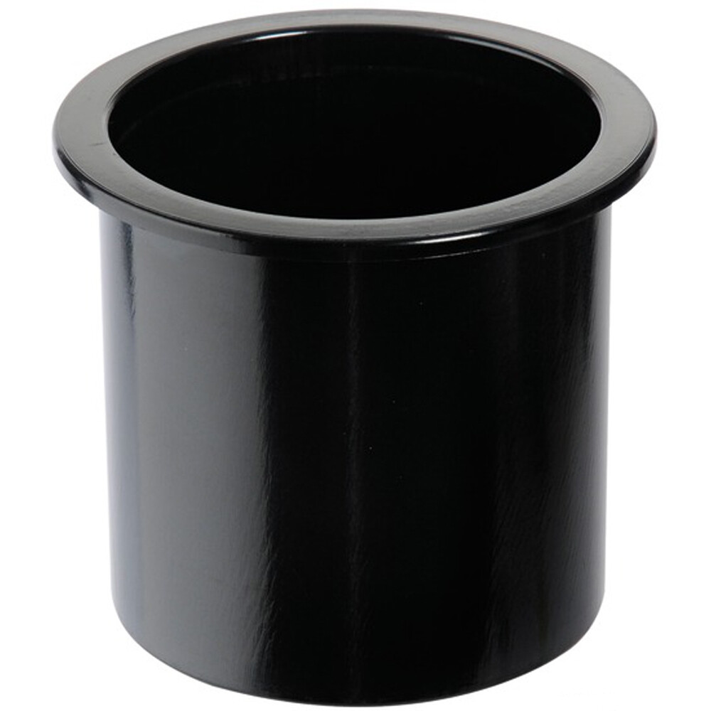 Recessed Glass Holder - Black