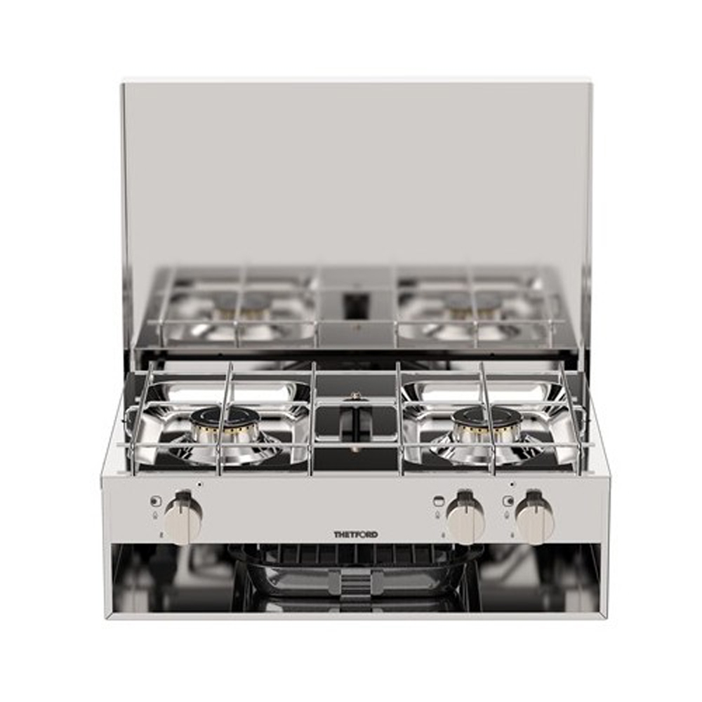 Grill and 2 Burner Hob