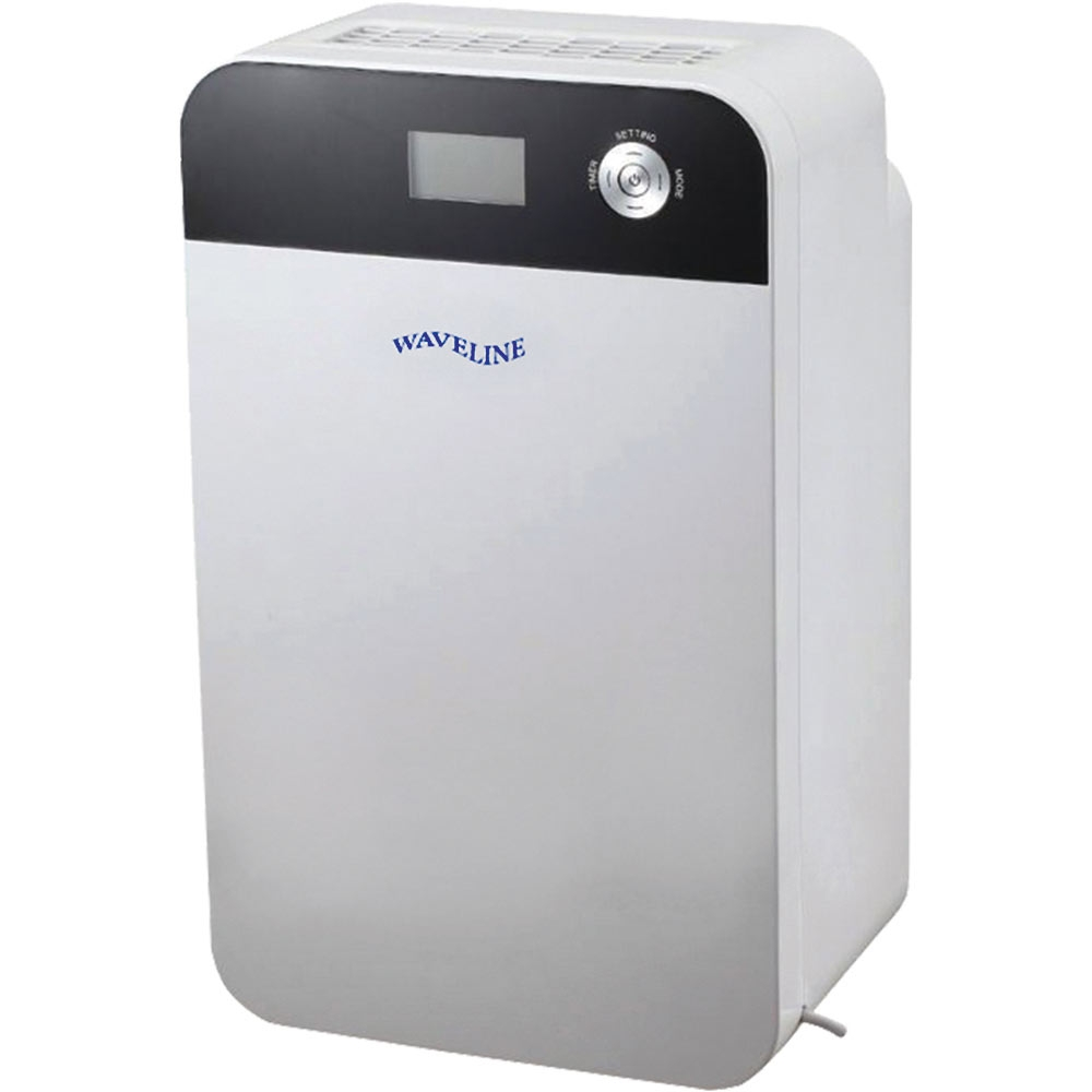 Portable Dehumidifier with LCD Display & Humidistat Control