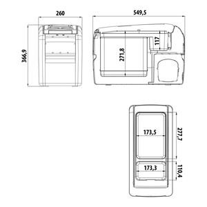 CF 16 Portable Fridge/Freezer