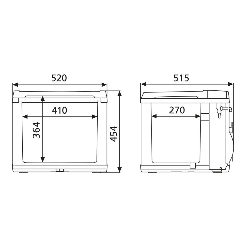 CK 40D Hybrid Fridge-Freezer Coolbox