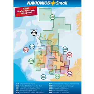 Plus Small Chart - Portland to Walton-on-the-Naze