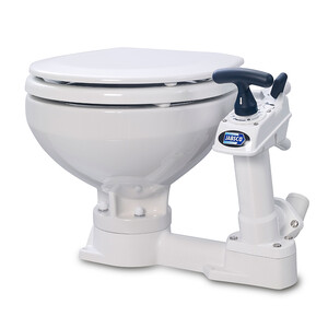 Manual Toilet - Compact Bowl