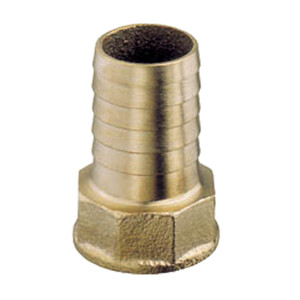 "3/8"" BSP Brass Hose Connector for 13mm (1/2"") ID Hose"