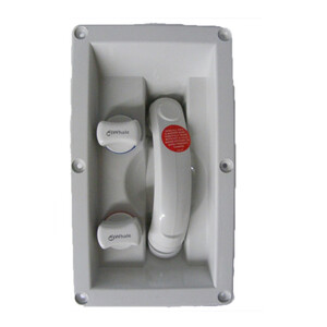 Transom Hot & Cold Mixer Shower