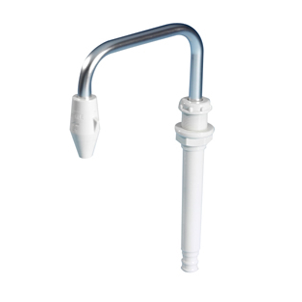 Telescopic Faucet with On/Off White
