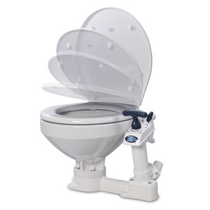 Manual Toilet - Regular Bowl - Soft Close Seat&Lid