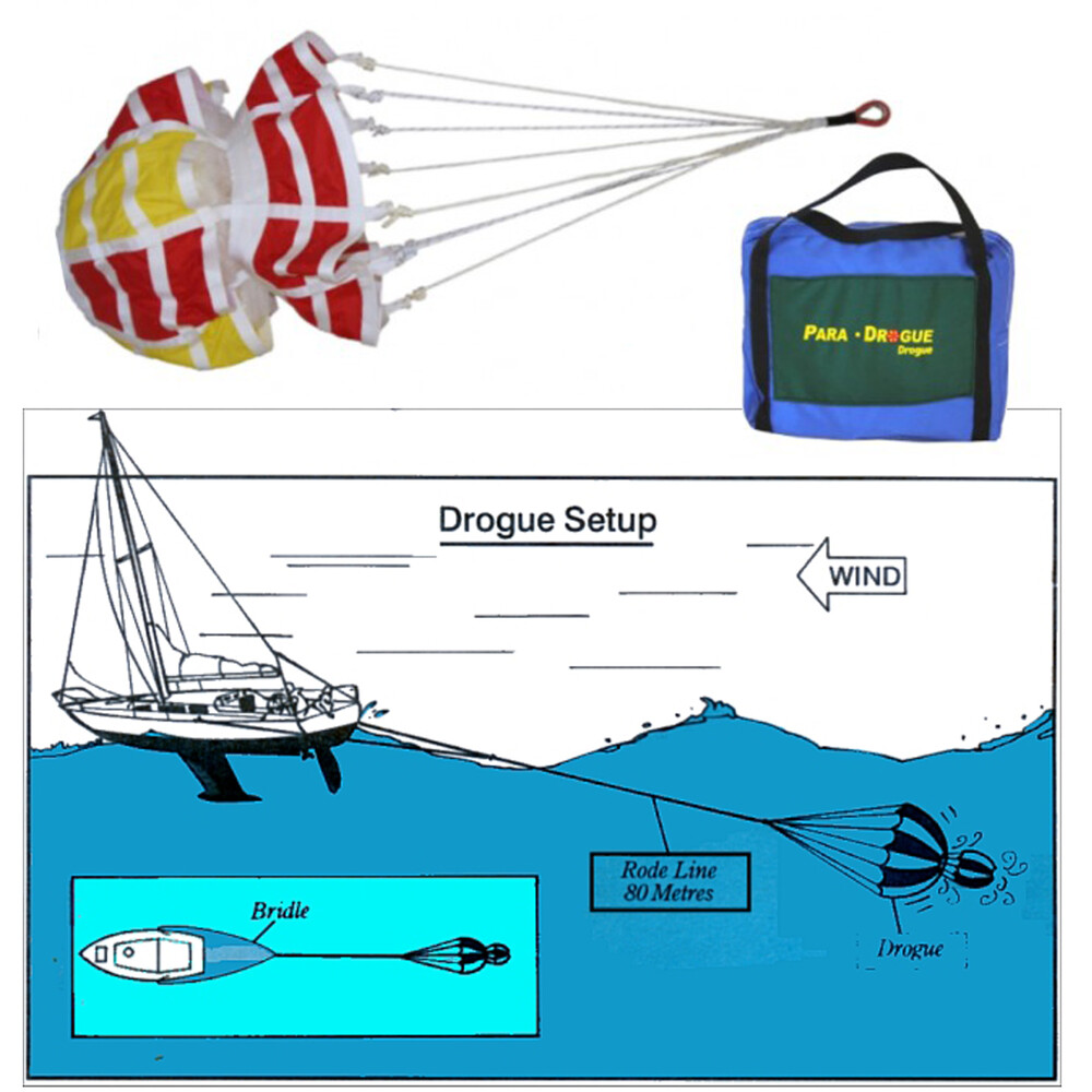 Para-Anchor Yacht Drogue (Vessels upto 50ft)