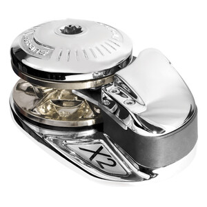 X2 Low Profile 8mm Vertical Windlass - Chrome 12V 1000W