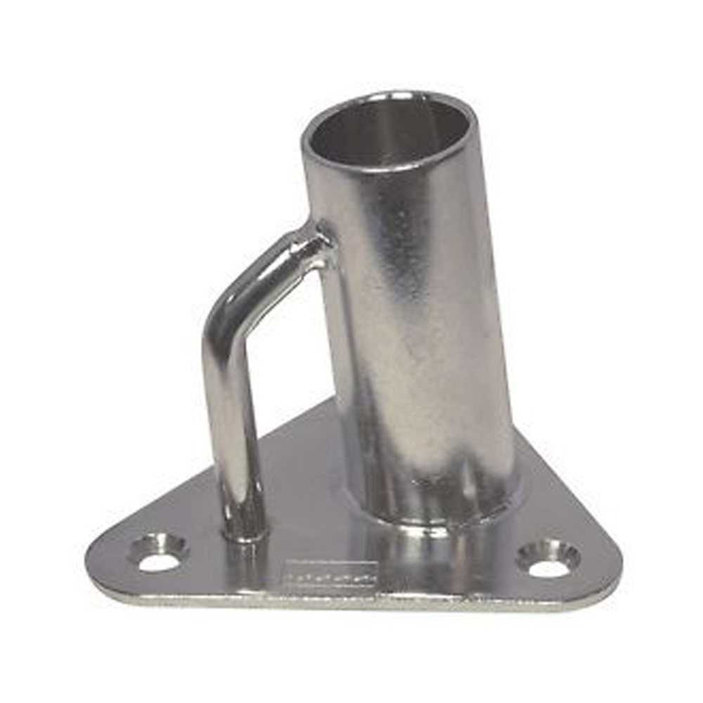 Stainless Steel Stanchion Base - 3°
