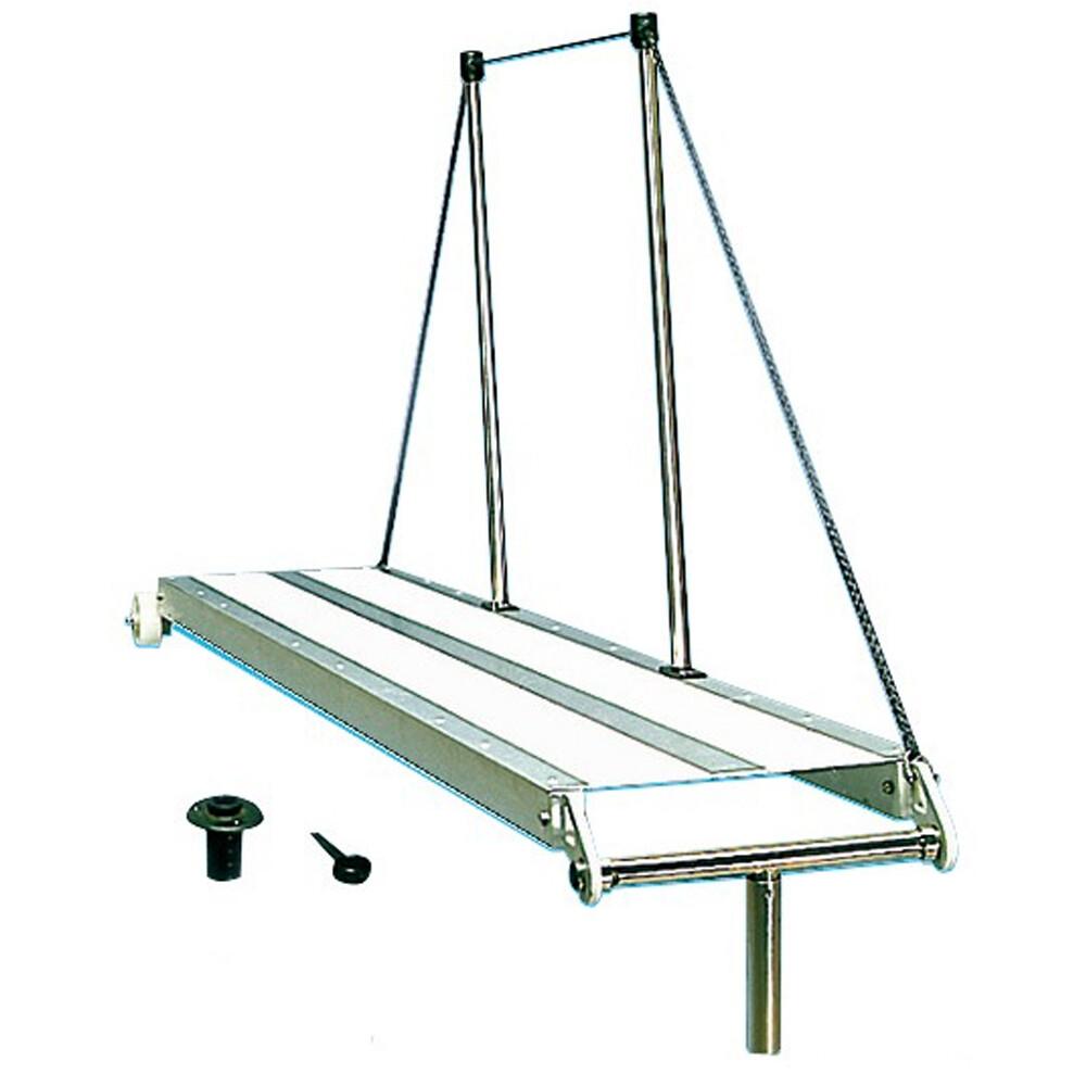 Rigid Aluminium Gangway 2m