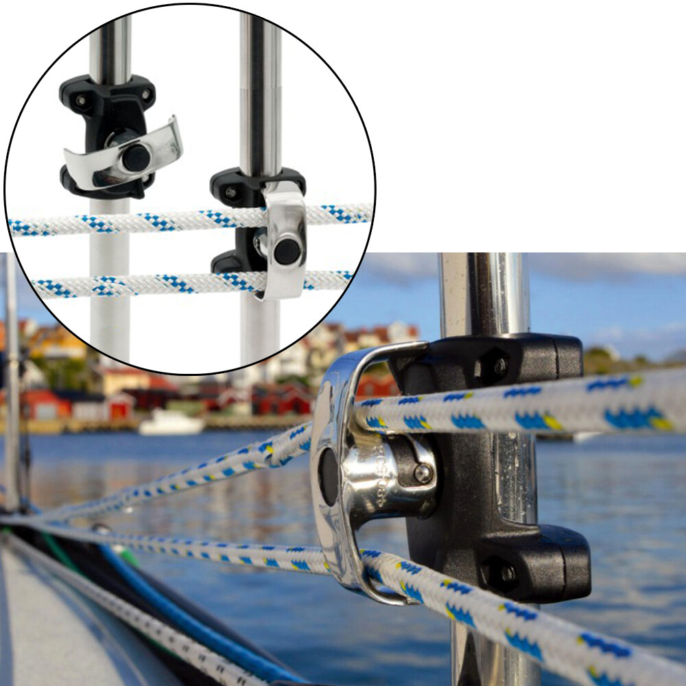 Double Stanchion Fairlead