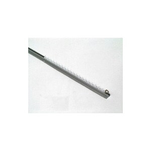 Silent Gliss Curtain Rail - Overhead Fixing Silver