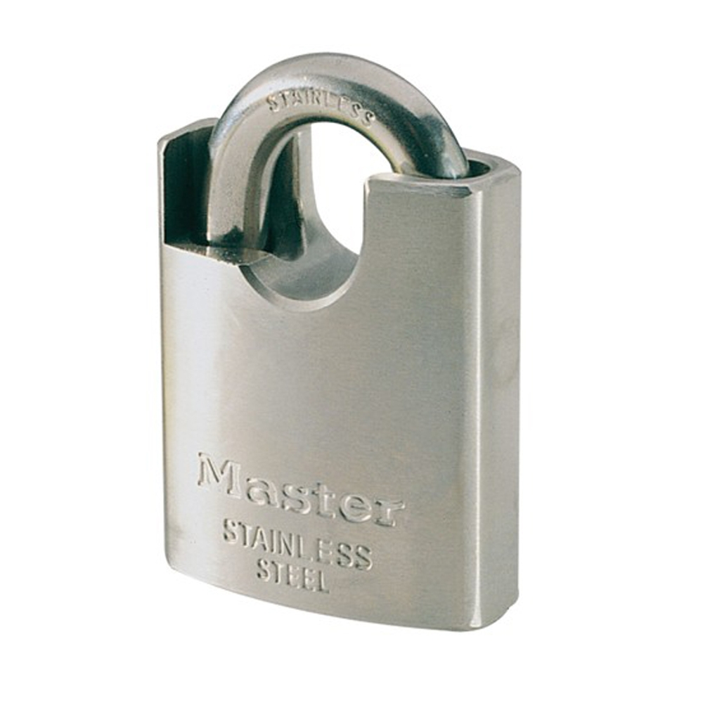 Stainless Steel Shrouded Padlock