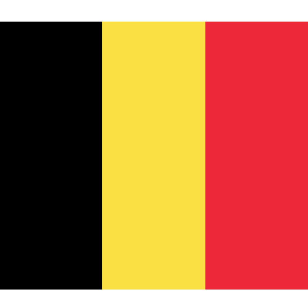 Courtesy Flag Belgium