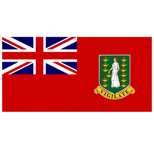 Courtesy Flag British Virgin Islands