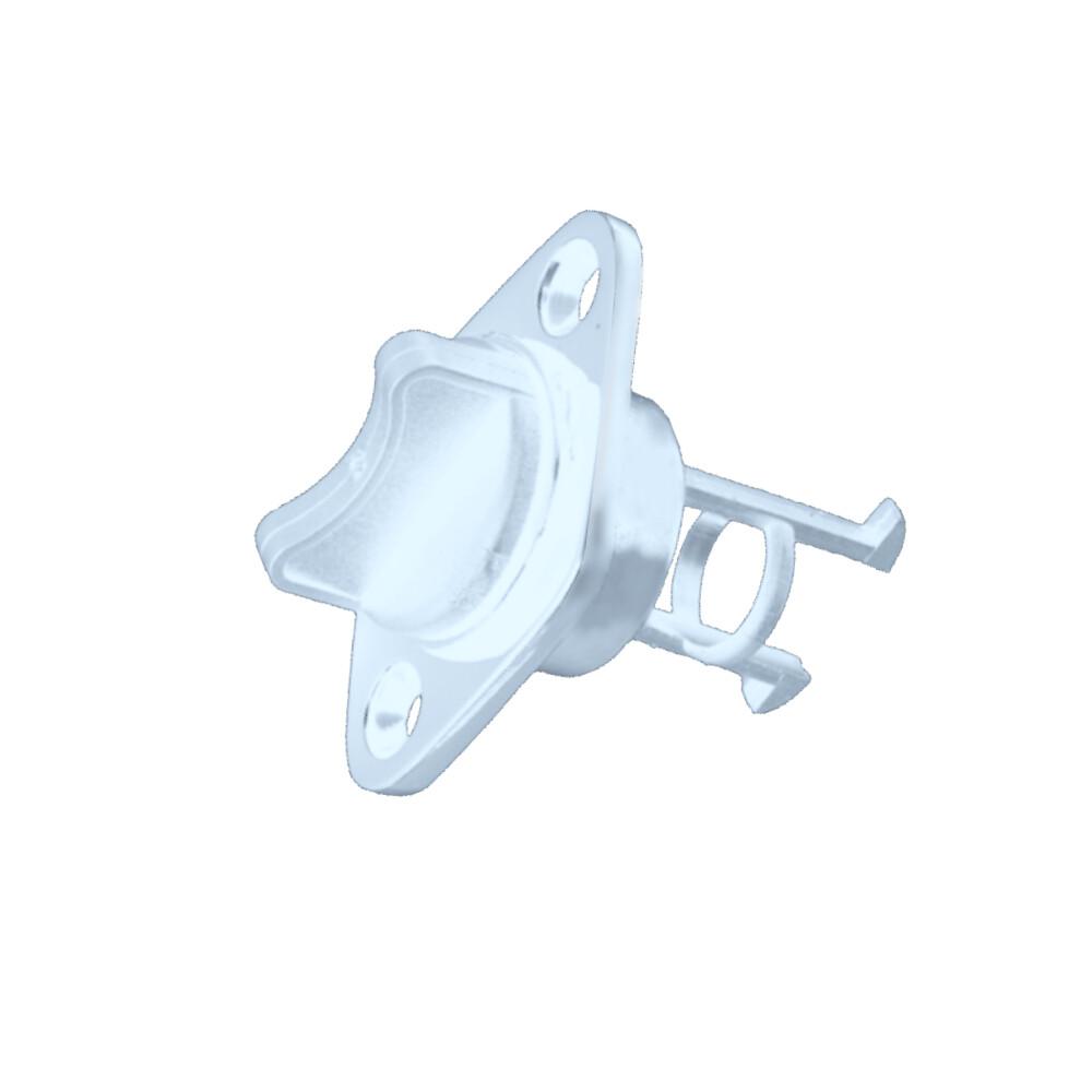 Plastic Drain Plug - White