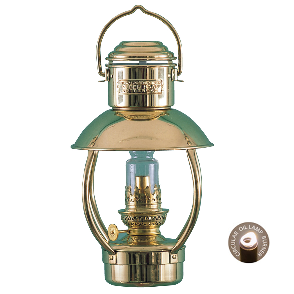 Brass Oil Lamp - Trawler Junior