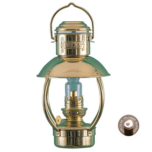 Brass Oil Lamp - Trawler Junior