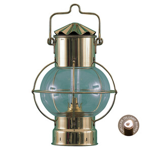 Brass Oil Lamp - Globe Lamp