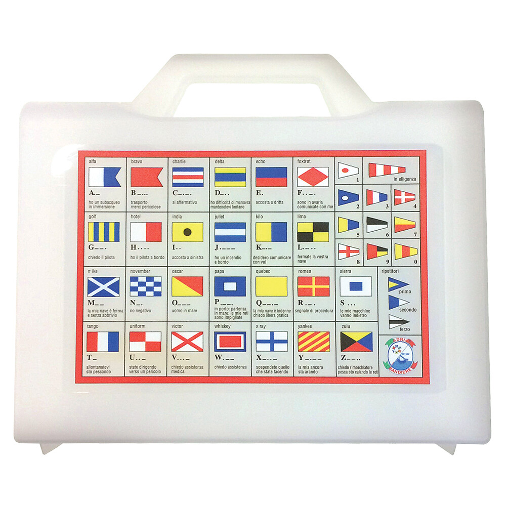 Code Flag Storage Box