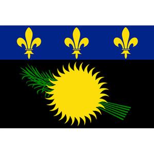 Courtesy Flag Guadeloupe