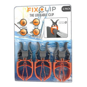 FixClip The Lockable Clip Pack of 2