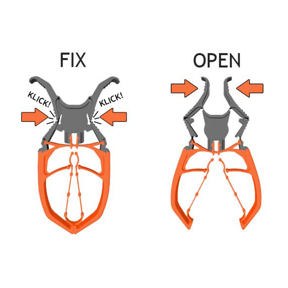 Fixclip Lockable Clip (6 Pack)