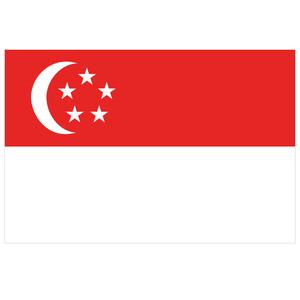 Courtesy Flag Singapore
