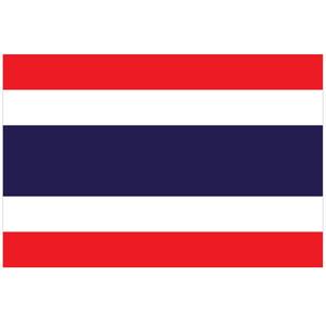 Courtesy Flag Thailand