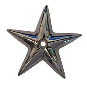 Chrome Good Fortune Star