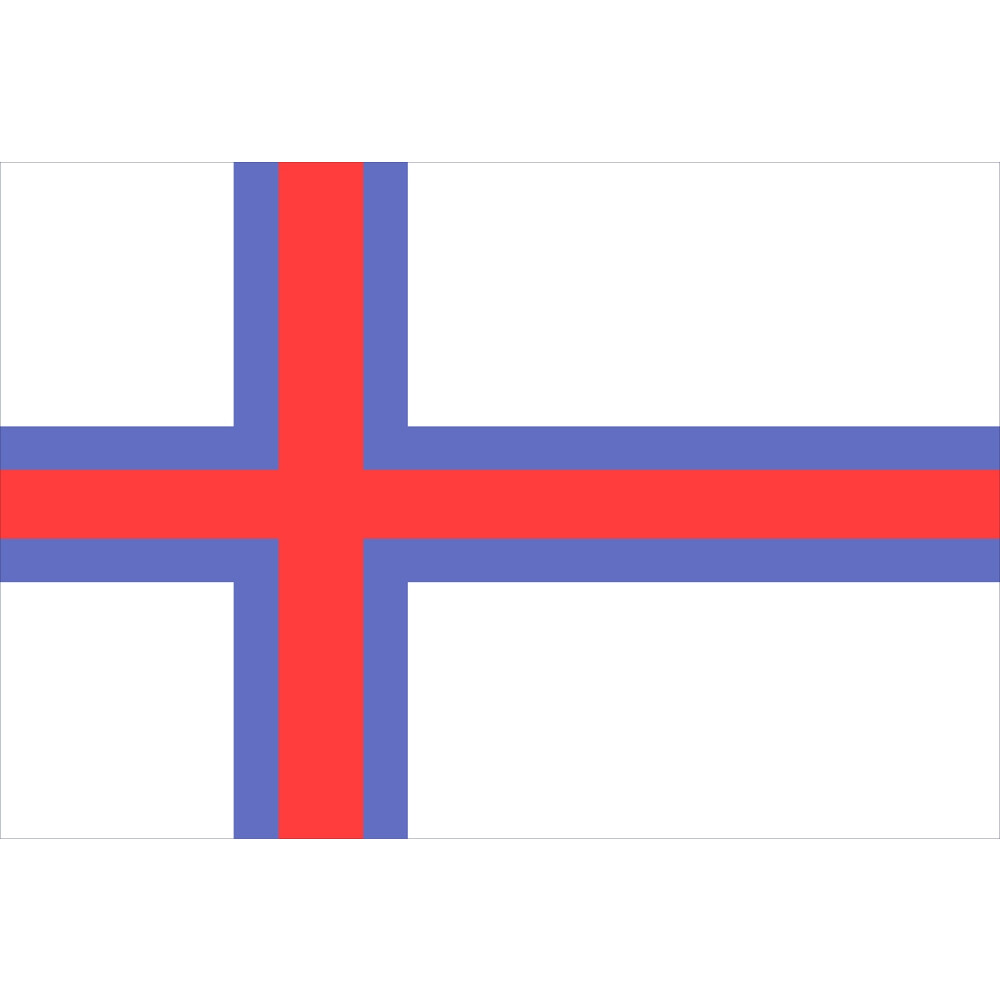 Courtesy Flag Faroe Islands