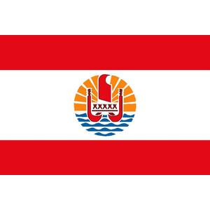 Courtesy Flag French Polynesia