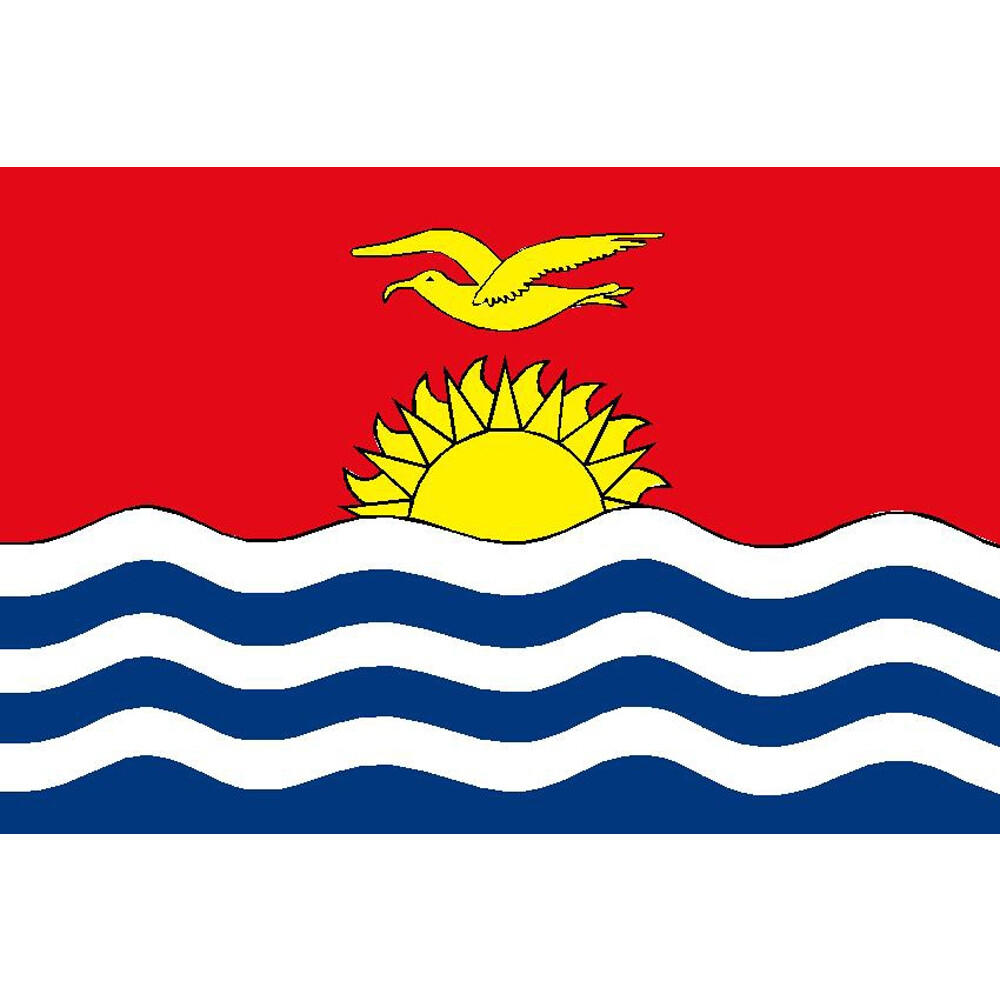 Courtesy Flag Kiribati