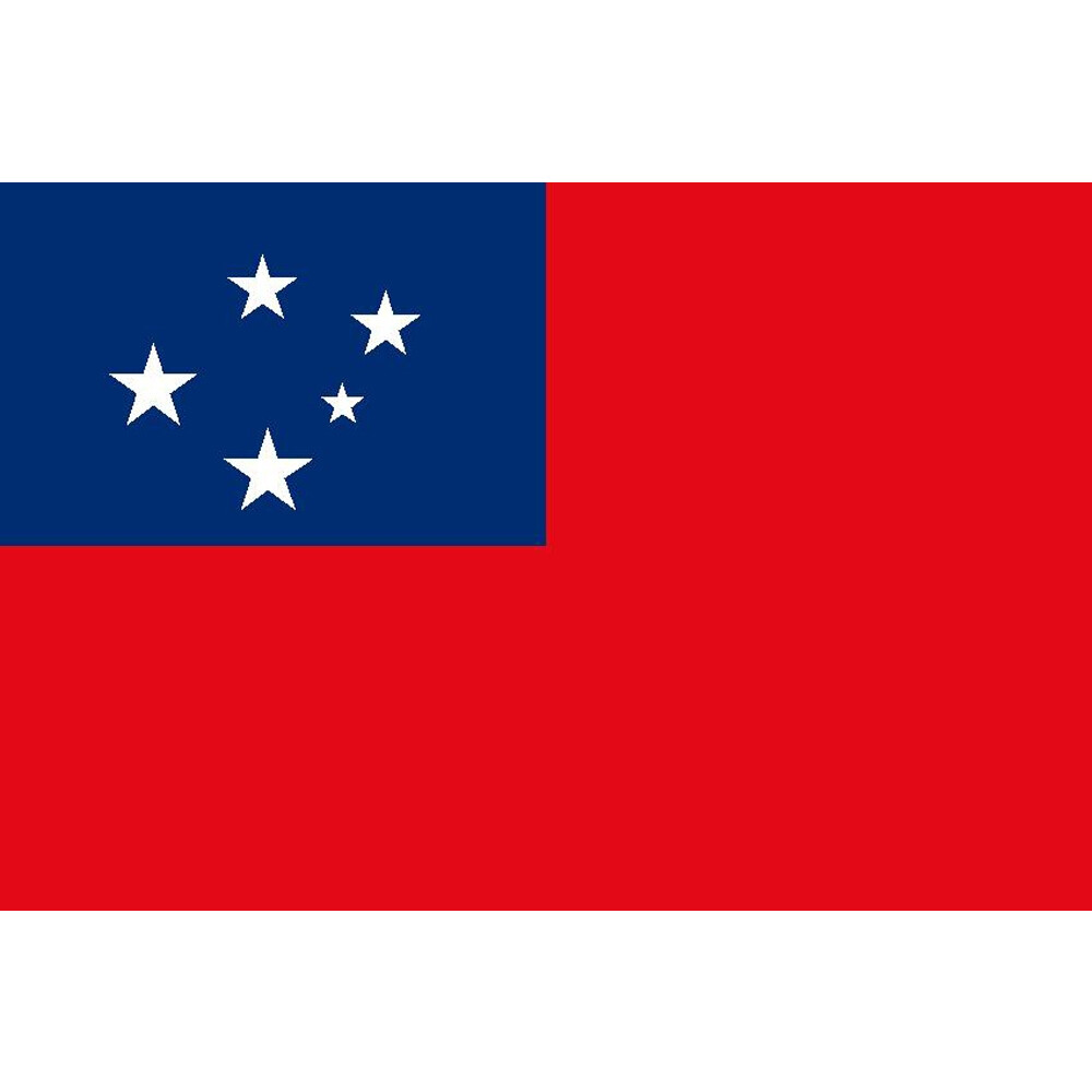 Courtesy Flag Samoa