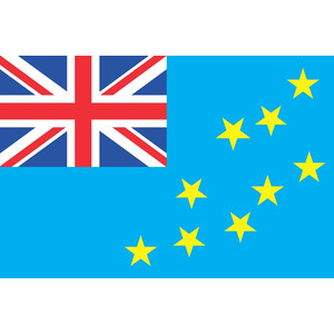 Courtesy Flag Tuvalu